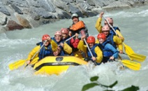 adult water rafting