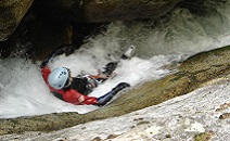 Canyoning adult and teen