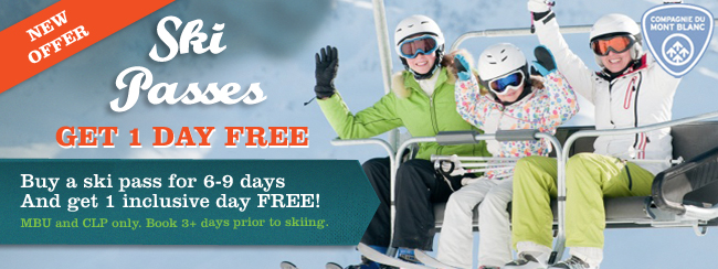 Ski pass offer - one day free